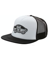 šiltovka Vans Classic Patch Trucker - White Black 5aed677b446