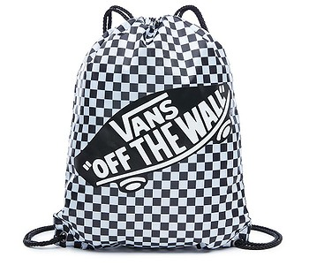 vak Vans Benched - Black/White Checkerboard