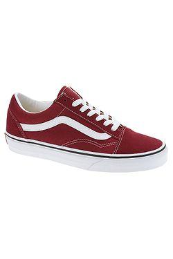 dcd0f537af0 boty Vans Old Skool - Rumba Red True White ...