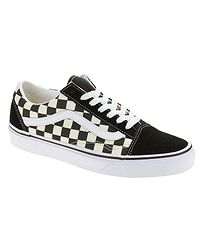 boty Vans Old Skool - Primary Check Black White 6c37747eab