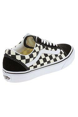 ... boty Vans Old Skool - Primary Check Black White e6bd029cbf