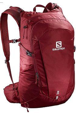 d0a9fe0504 batoh Salomon Trailblazer 30 - Biking Red Ebony