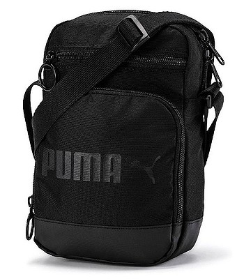 1e9150520d bag Puma Campus Portable Woven - Puma Black - snowboard-online.eu