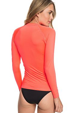 ... tričko Roxy Whole Hearted LS - MKZ0 Fiery Coral 37e9e01cd8