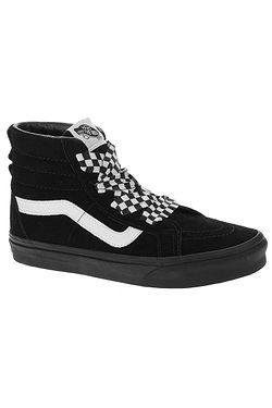 136c0b7db6e boty Vans Sk8-Hi Alt Lace - Check Wrap Black Black ...