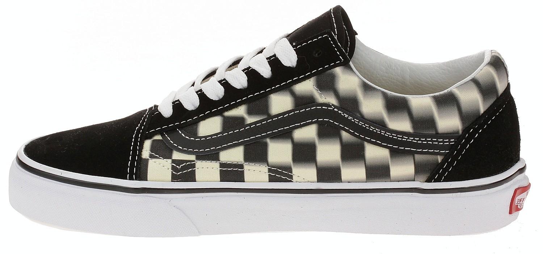 Blur Skool Checkblackclassic Old Schuhe Blackcomb Vans White LRj4A53