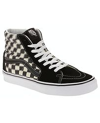 80c88547c652 topánky Vans Sk8-Hi - Blur Check Black Classic White