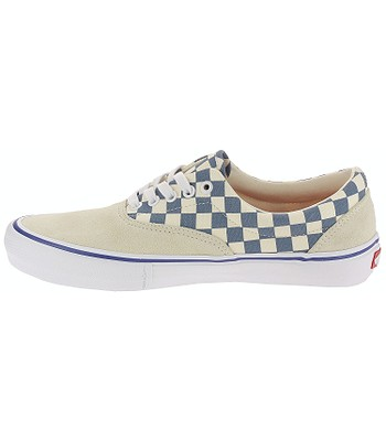 31524fffc80 shoes Vans Era Pro - Checker Classic White Blue Ashes - men´s. IN STOCK ‐  by 28. 3. at your home