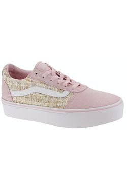 boty Vans Ward Platform - Tweed Chalk Pink ... 81e6484e3a