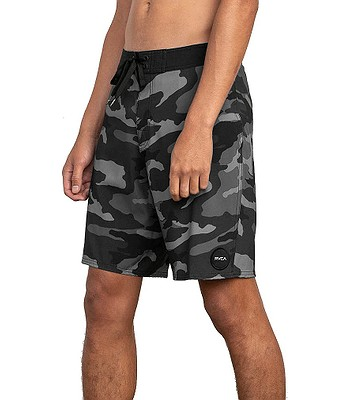 9b14f2faa5 swimming shorts RVCA Va Trunk Print - Charcoal Black - men´s. IN STOCK