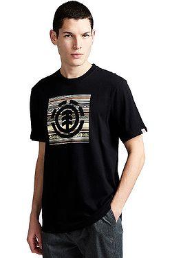 31589e223eb3 tričko Element Indiana Logo Block - Flint Black ...