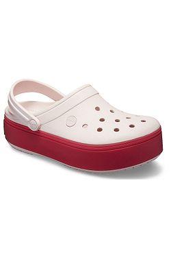 9460674b1a0 topánky Crocs Crocband Platform Clog - Barely Pink Pepper