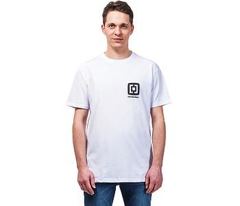tričko Horsefeathers Mini Logo - White