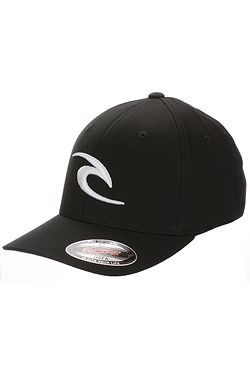 kšiltovka Rip Curl Fleck Curve Peak Flexfit - Black ... a287d4bd86