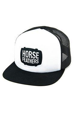 kšiltovka Horsefeathers Landen Trucker - White ... 88a3b19d44