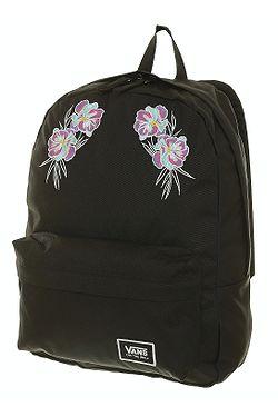 781d8207cd batoh Vans Realm Classic - Black Paradise Floral ...
