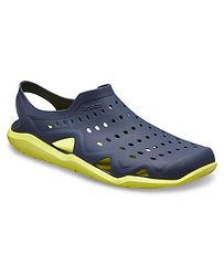 67670390ffe boty Crocs Swiftwater Wave - Navy Citrus