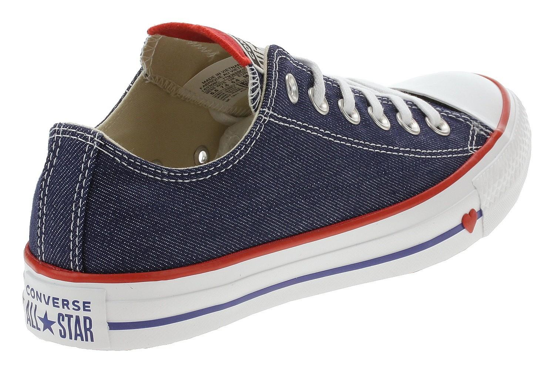 Schuhe Converse Chuck Taylor All Star OX 163308Indigo