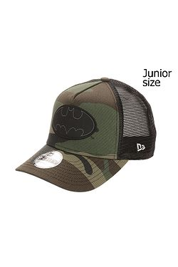 85dfb60cc detská šiltovka New Era 9FO Aframe Character Batman Trucker Youth -  Midnight Camo/Black ...