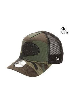 detská šiltovka New Era 9FO Aframe Character Batman Trucker Child -  Midnight Camo Black 7f5173f7b3