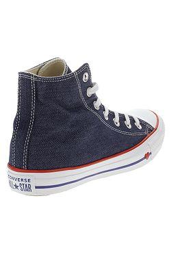 ... boty Converse Chuck Taylor All Star Hi - 163303 Indigo Enamel Red Blue ae3169a4228