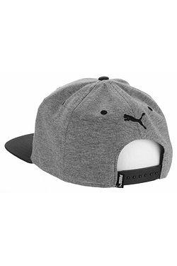 ... kšiltovka Puma Flatbrim Snapback - Medium Gray Heather Black d8d1925f77