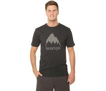 tričko Burton Classic Mountain High - True Black