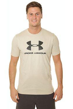 79ca1ab3f tričko Under Armour Sportstyle Logo - 289/Khaki Base/Black ...