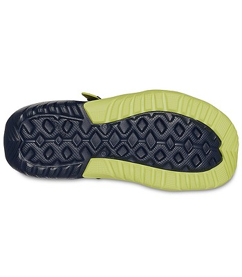 8e27f39f318bc shoes Crocs Swiftwater Mesh Deck Sandal - Navy Citrus - men´s. In stock