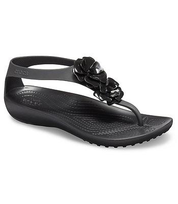 d41160073712 shoes Crocs Serena Embellish Flip - Black Black - women´s -  snowboard-online.eu