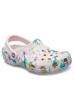shoes Crocs Classic Seasonal Graphic Clog - Barely Pink Floral - women´s 8881faf2a9e