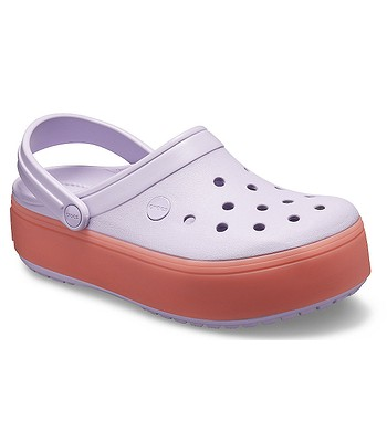 026efac20fa shoes Crocs Crocband Platform Clog - Levander Melon - women´s -  snowboard-online.eu