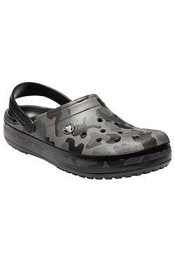 12bc5a4f7743 topánky Crocs Crocband Seasonal Graphic Clog - Slate Gray Black