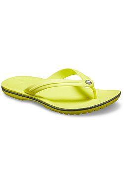 d6cb6428cd žabky Crocs Crocband Flip - Citrus Slate Gray