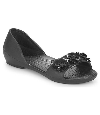 boty Crocs Lina Flower Dorsay - Black Black  1e6ab2263c