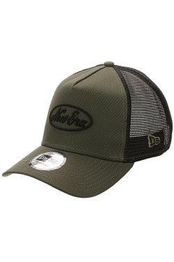 9c1f2601e šiltovka New Era 9FO Aframe Script Trucker - New Olive/Black ...