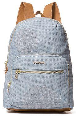 9f10b51356 backpack Desigual 19SAXPG6/Atila Lima - 5002/Azul Palo - women´s ...