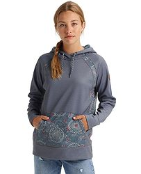 c94a28306 mikina Burton Crown Bonded Pullover - Dark Slate Heather/Domo Print