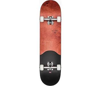 skateboard Globe G1 Argo Complete - Red Maple/Black