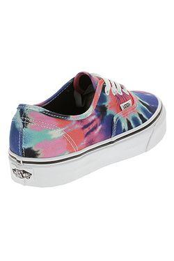 69a9a1c42e34b3 ... shoes Vans Authentic - Tie Dye Multi True White