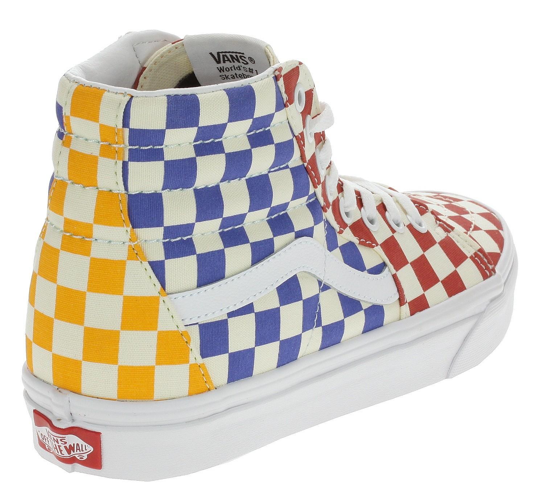 Blackcomb Schuhe Sk8 Vans Checkerboardmultitrue Shop Hi White eu OkZiuPX