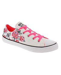 detské topánky Converse Chuck Taylor All Star Pretty Strong OX -  663624 White Racer 7108e96bc