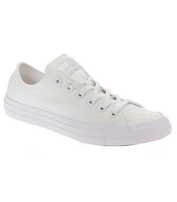 5bd6f9c1c321 shoes Converse Chuck Taylor All Star OX - 563464 White White Silver - women´ s - blackcomb-shop.eu
