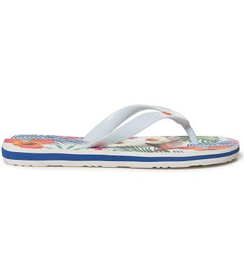 6083cb56f flip flops Desigual 19SSHF17 Flip Flop Tropical White - 1000 Blanco ...