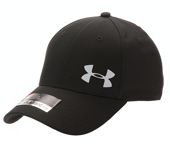 kšiltovka Under Armour Golf Headline 3.0 - 001/Black