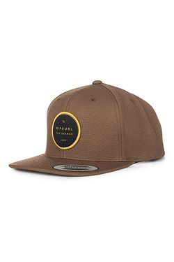 72e42276c šiltovka Rip Curl Valley Badge Snapback - Coffee