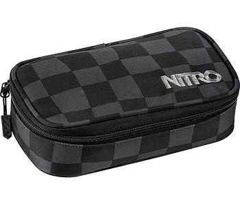penál Nitro Pencil Case XL - Checker
