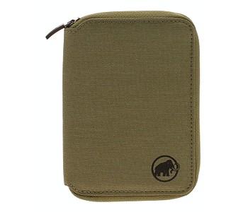 peněženka Mammut Zip Mélange - Olive