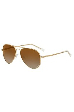 c67a5aff5 okuliare Relax Hatch - R2319L/Shiny Gold/Brown Bronze/Polarized