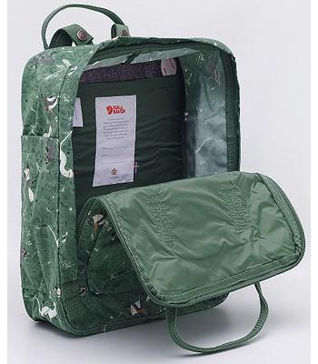 eleganckie buty super słodki jakość wykonania backpack Fjällräven Kanken Art Laptop 15 - 976/Green Fable ...